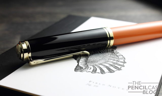 Pelikan Souverän M800 Burnt Orange special edition fountain pen