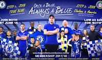 Jadwal Pertandingan Chelsea di Premier League Musim 2017/2018
