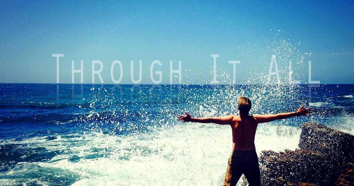 Through It All Hillsong Worship Music Letter Notation