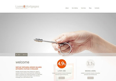 Loan & Mortgage Responsive WordPress Theme