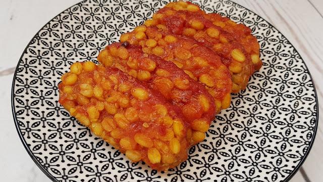 Tempeh en salsa de tomate babi pinggang