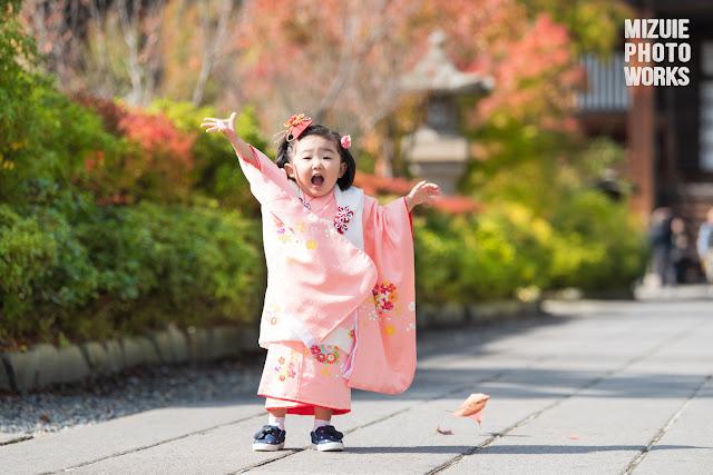 善光寺七五三ロケーション撮影
