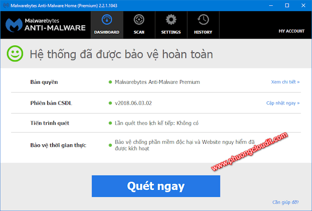 Malwarebytes Anti-Malware Premium Portable 2.2.1.1043 Rev4