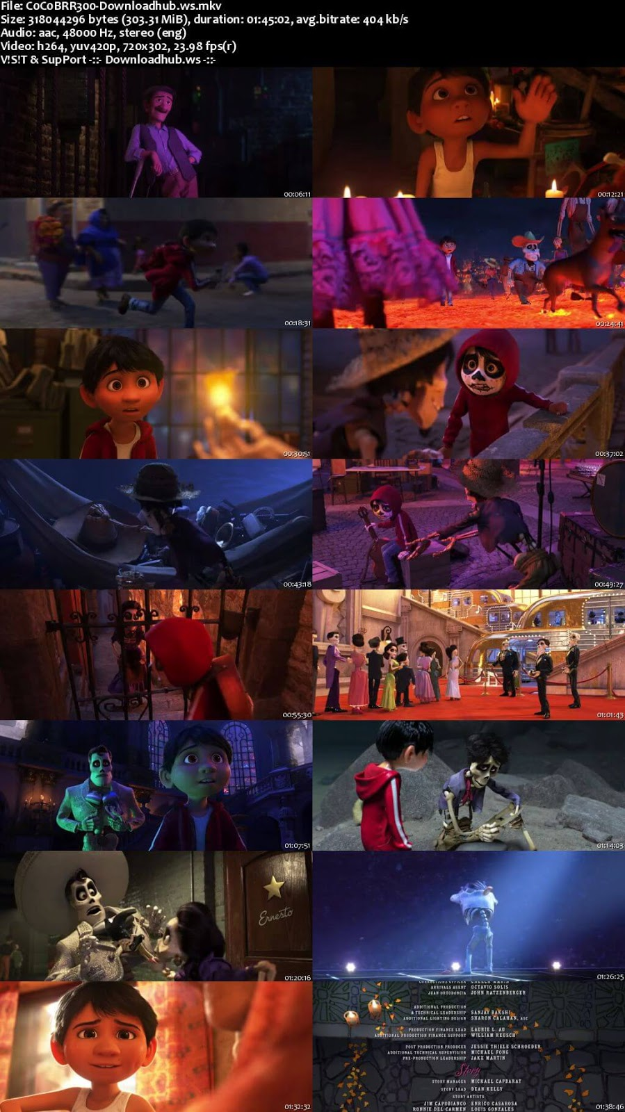 Coco 2017 English 480p BRRip ESubs