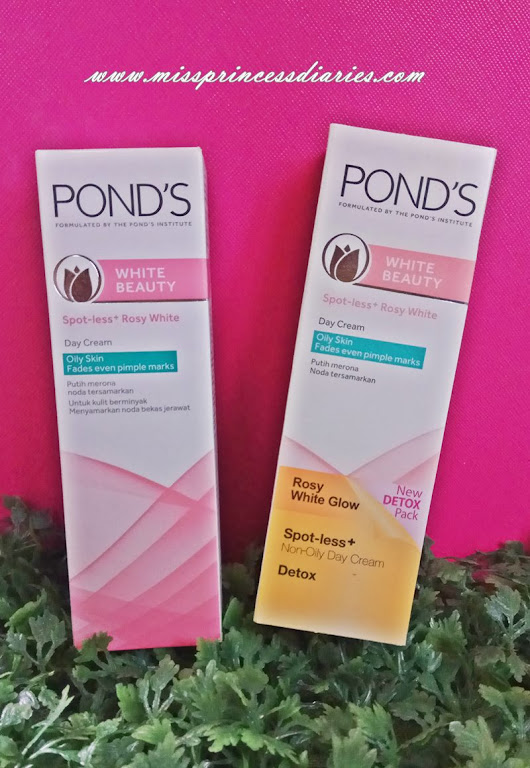 Beauty Detox: POND'S Spot-less + Rosy White Day Cream - Miss Princess Diaries