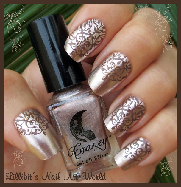 Lillibit´s Nail Art World: Efecto espejo Craney 12 de Beauty BigBang