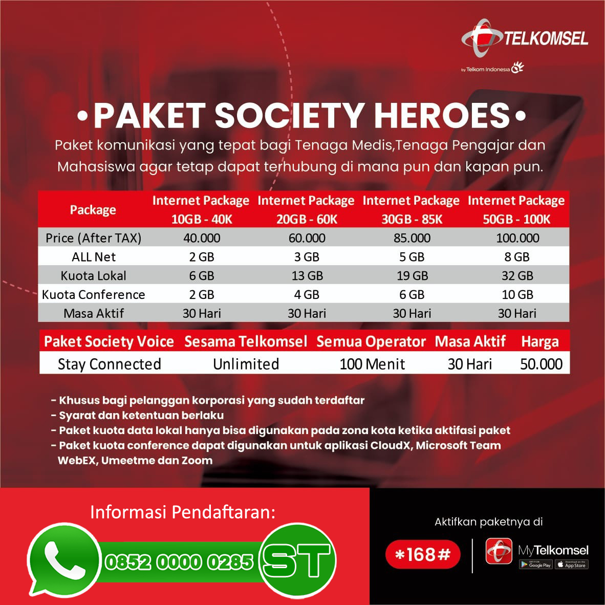 Fitur Society Telkomsel