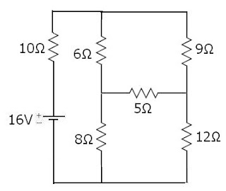 Electrical Circuits & Network Theorems: Example Solved