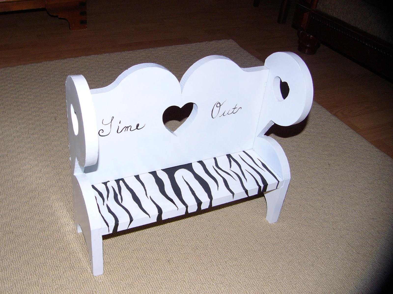 kids time out chair airgo swivel desk craft booth 555 zebra