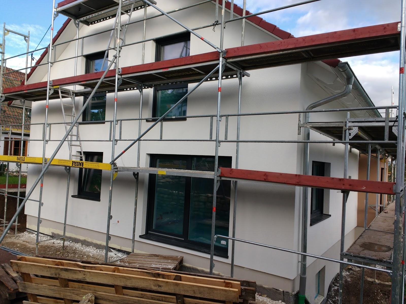 Hauser Massivhaus jetzt kommt die farbe wir bauen ein hauser massivhaus