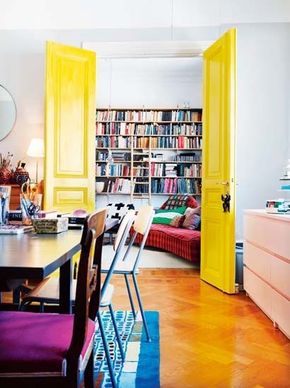 Deco-friendly en amarillo