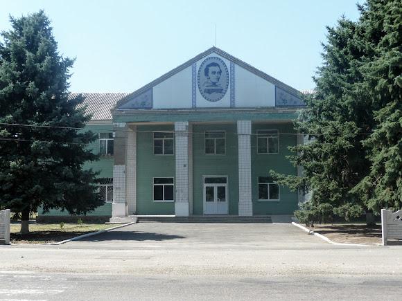 Васильківка. Район Низ. Вулиця Соборна. Будинок культури
