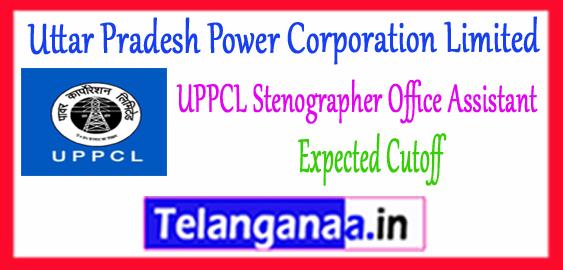 UPPCL Uttar Pradesh Power Corporation Limited Office Assistant Expected Cutoff 2017 Stenographer Gr 3 Merit List Admit Card