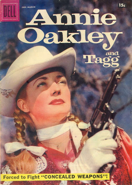 Iverson Movie Ranch Annie Oakley Shoots Up The Iverson Ranch