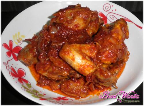 Resepi Ayam Masak Sambal Merah Simple Sedap Cara Mudah Masak Ayam Sambal Merah Ayam