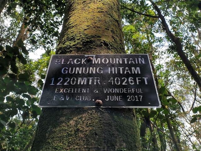 Gunung Hitam Peak