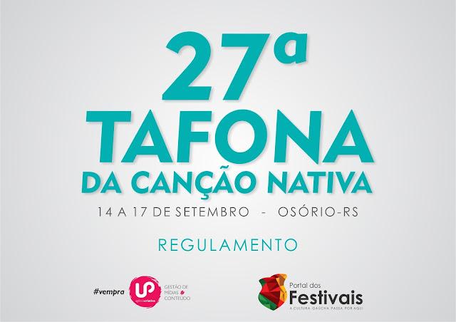 Confira o regulamento da 27ª Tafona da Canção Nativa