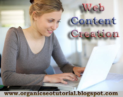 organic seo tutorial web content creation