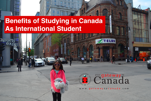 Benefits of Studying in Canada as International Student