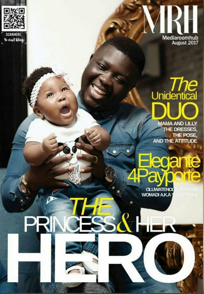 Seyi Law And Daughter Cover Media Room Hub Magazine