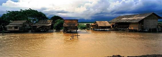 Irrawaddy Delta between Yangon and Bago