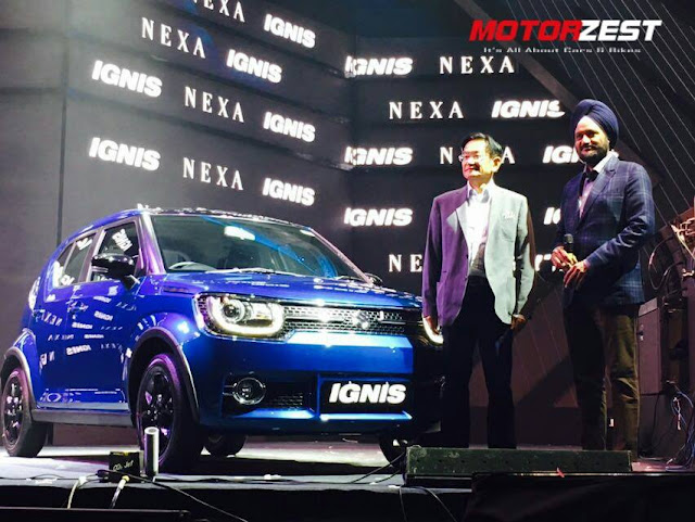 Maruti Suzuki IGNIS launch India 2017