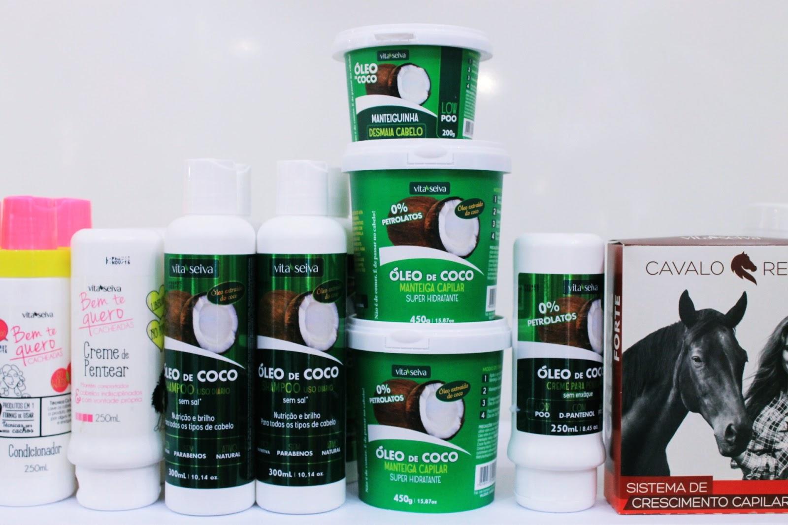 EBSA 7, ingrid gleize, lançamentos de cabelo, novidades produtos de cabelo, embelleze, vita seiva, creme é do babado evelyn regly, kiria hair, lançamento linha de coco, produtos liberados para low poo, produtos para cachos