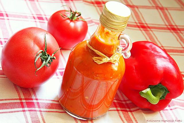 Pikantny sos paprykowo - pomidorowy