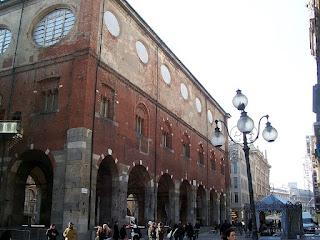 The Palazzo della Ragione in Piazza Mercanti
