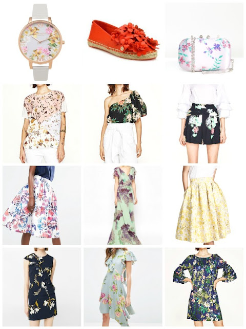 Favorite floral picks for girly and romantic looks - Ioanna's Notebook