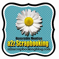 a2z Scrapbooking Honorable Mention Award
