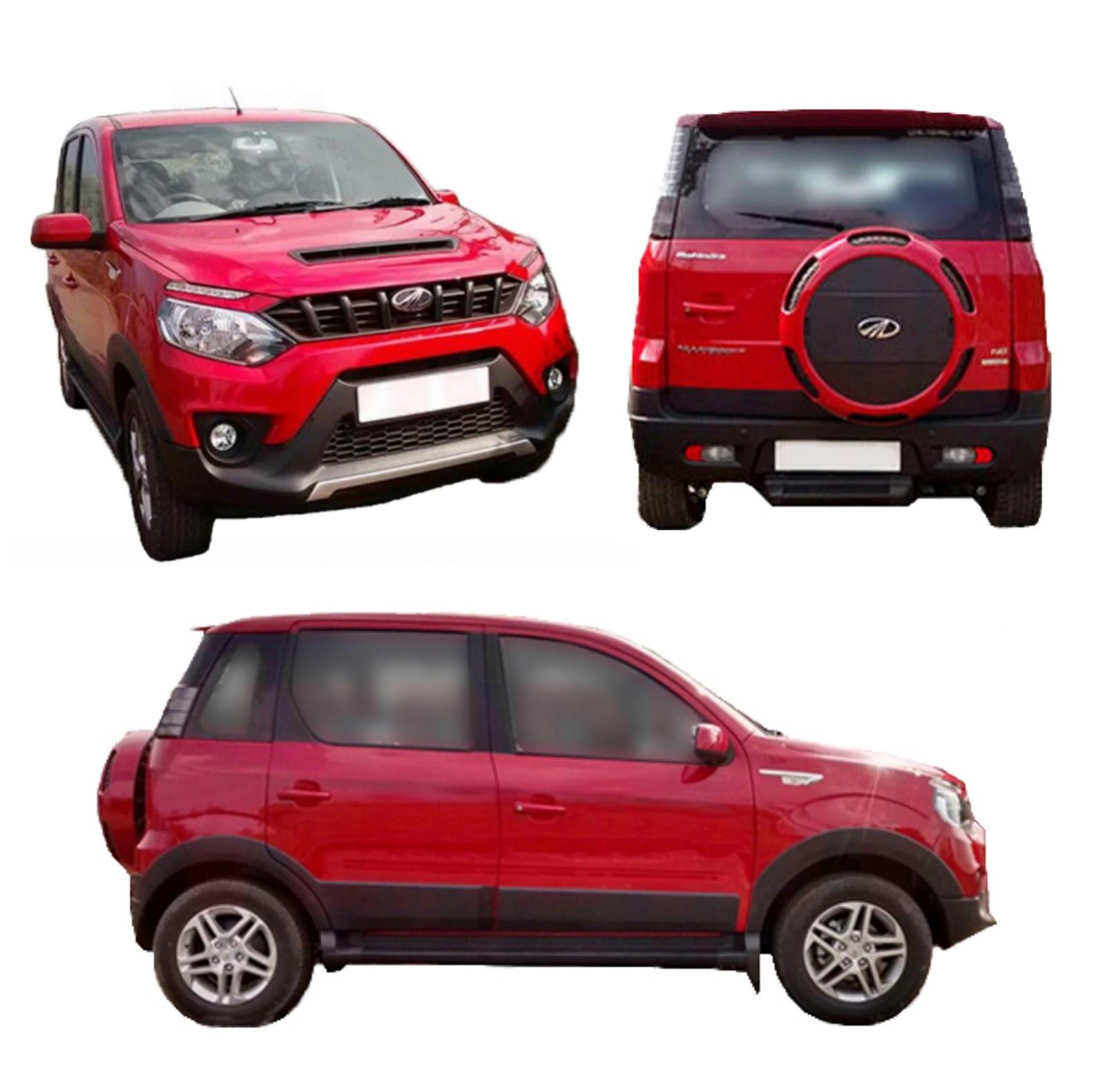 2016 Mahindra Nuvosport Mahindra Quanto Facelift