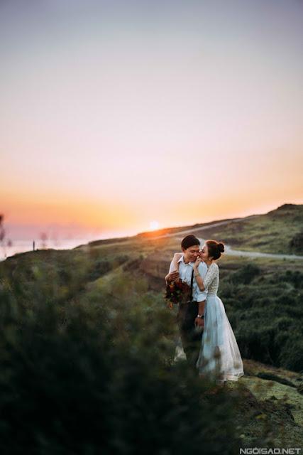 Chiêm ngưỡng bộ ảnh cưới thơ mộng trên đảo Lý Sơn - Hình 8