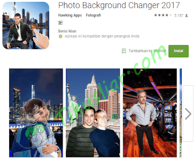 (Aplikasi)Download 12 Aplikasi Android Pengganti Background Foto Terbaik