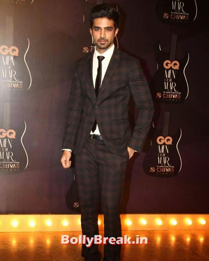 Saqib Saleem, Red Carpet Pics of GQ Men Of The Year Awards 2014