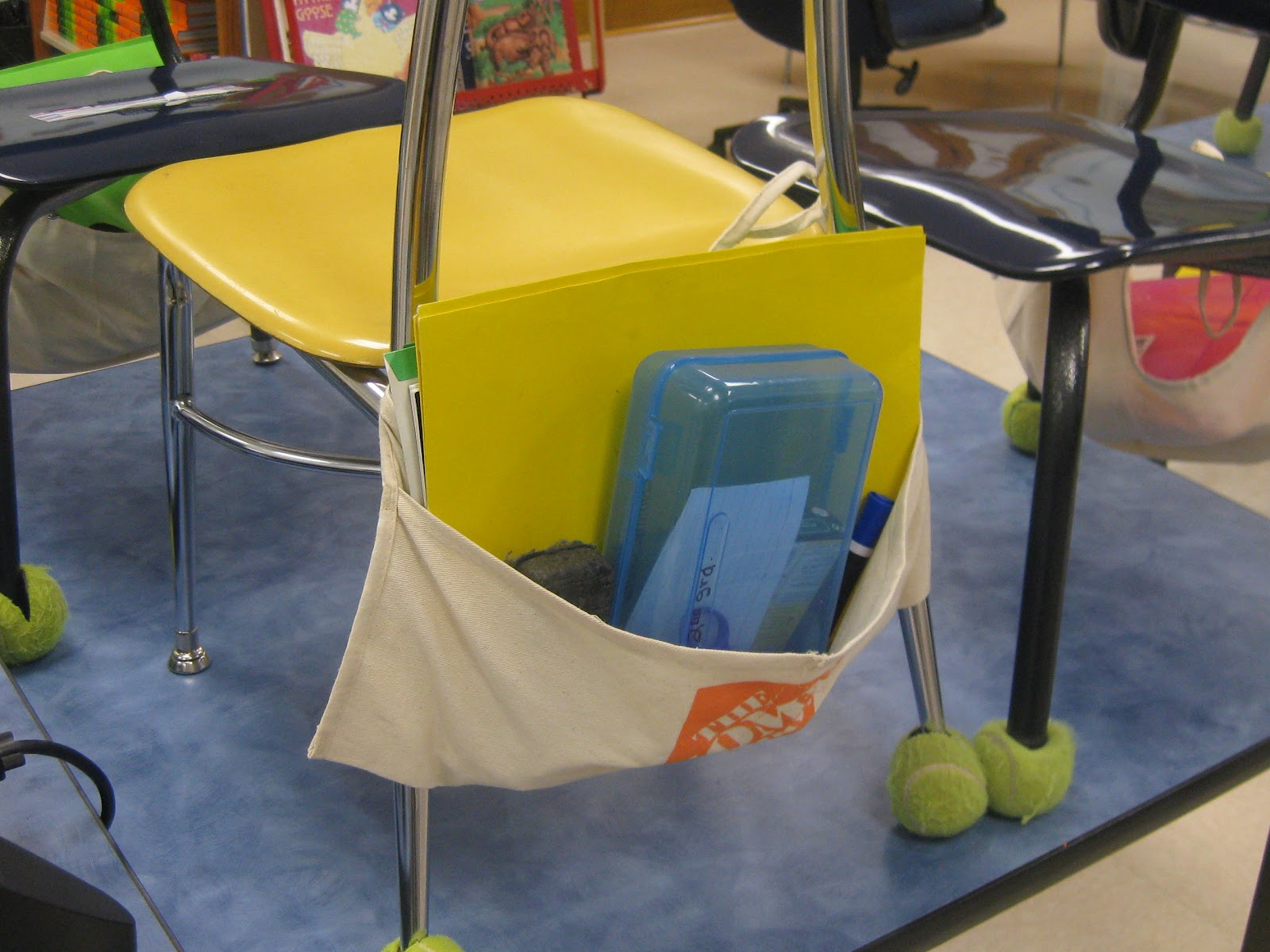 No Sew Chair Pockets Modern White Leather The 2nd Grade Spot Cheap