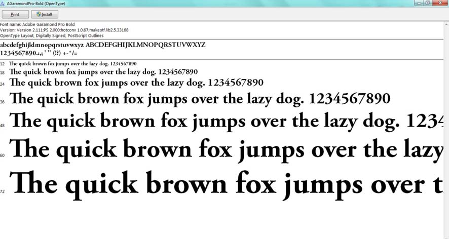 adobe garamond bold italic font free download