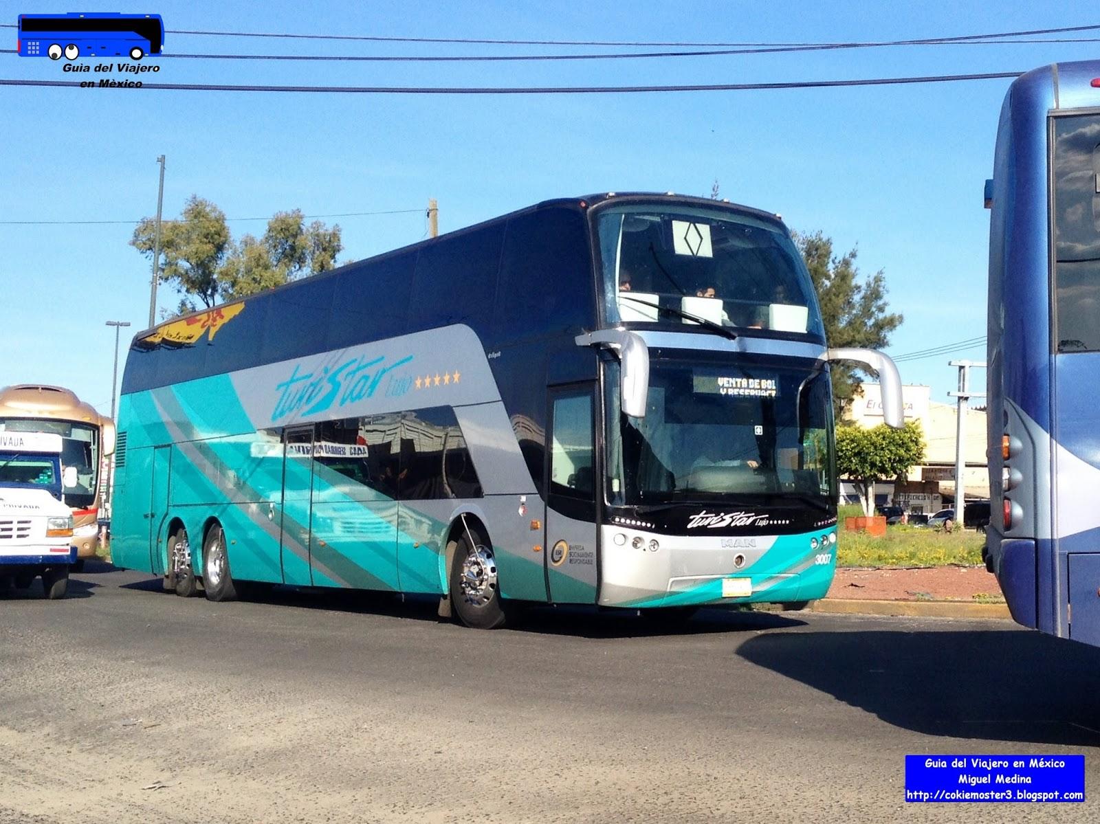 Gu a del viajero en m xico viajo en autob s porque son excitantes turistar lujo dos pisos - Autobuses de dos pisos ...