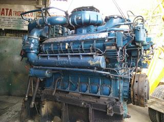 MTU Rolls Royce Marine Propulion Motor Engines with Gearbox