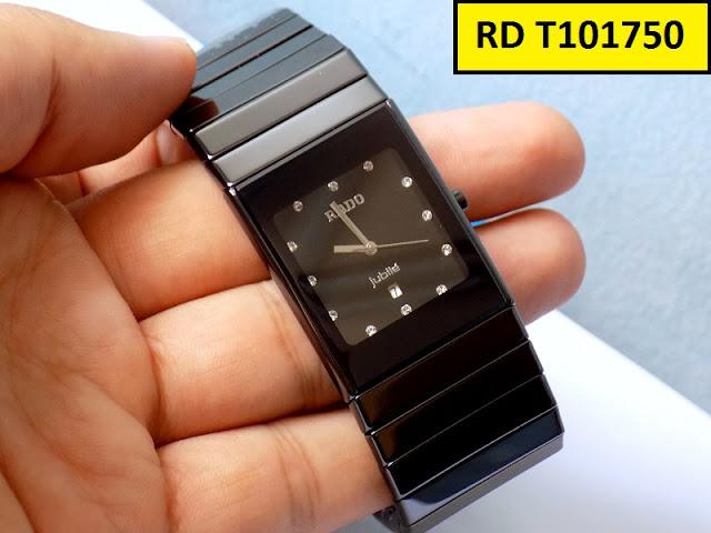 Đồng hồ nam mặt vuông Rado T101750
