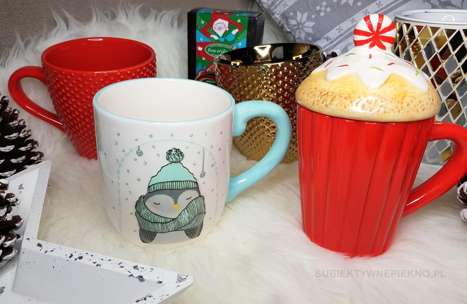 Pomysły na prezenty świąteczne do 100zł - kubki Home & You i herbata Five O'Clock