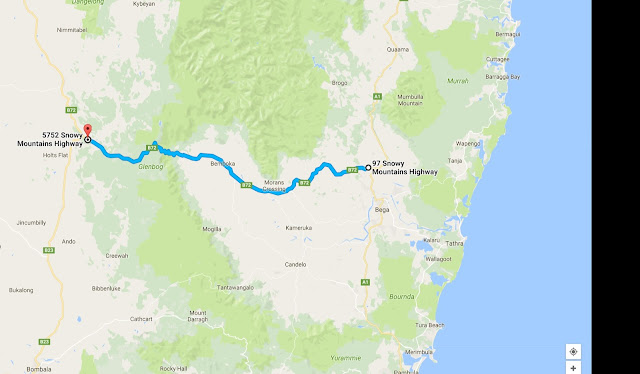 Australia's best motorcycle roads. Brown Mtn.
