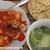 Menu Makan Siang Sederhana : Sambal Ikan Tahu dan Sayur Bening Sawi