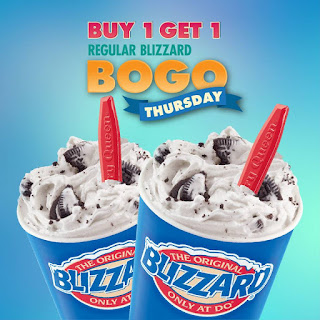 picture regarding Printable Dairy Queen Coupons identified as Blizzard obtain a single consider 1 - Footaction promo code