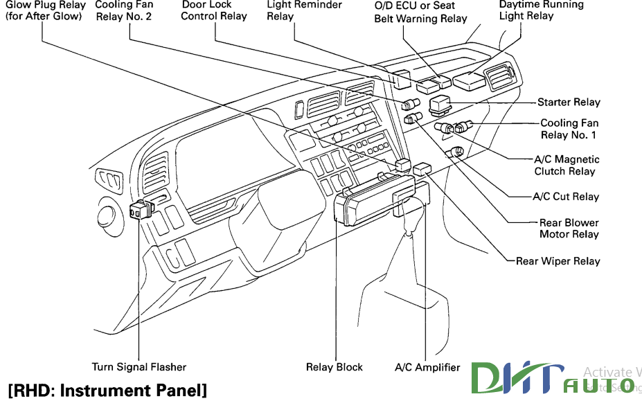 toyota workshop manual toyota hiace electrical wiring