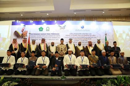 Indonesia Borong Semua Juara 1 Musabaqah Hafalan Quran dan Hadis ASEAN-Pasifik 2019