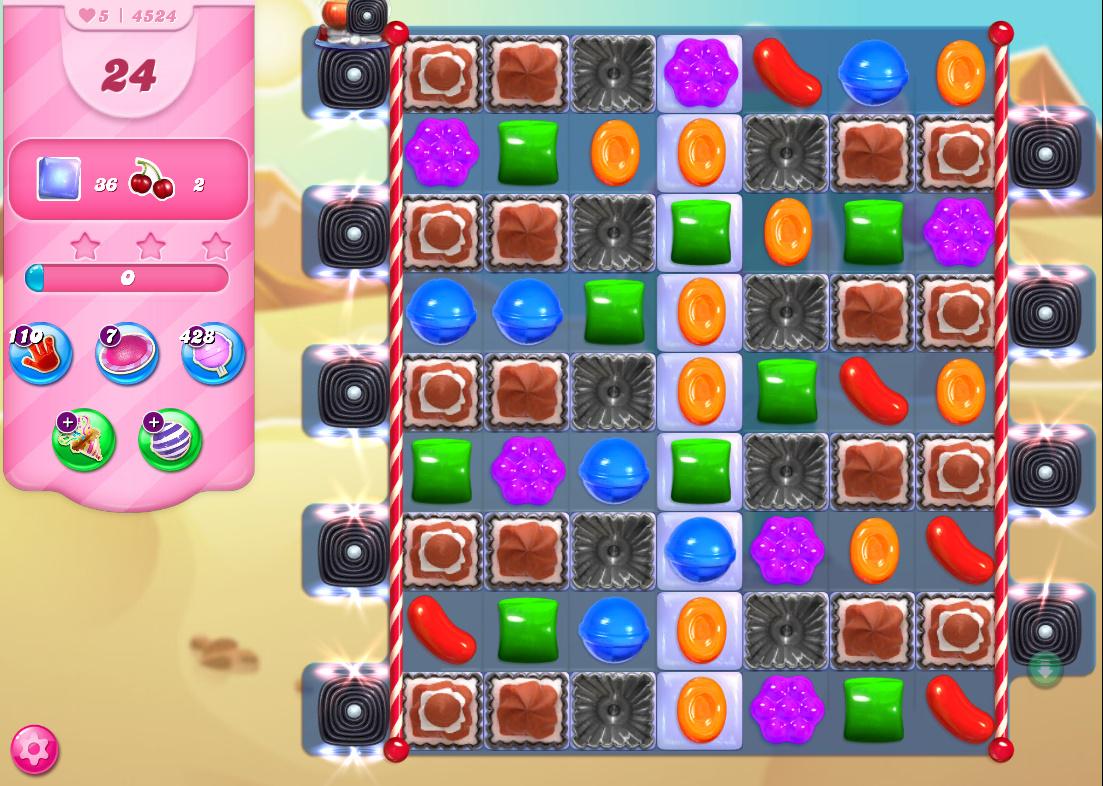 Candy Crush Saga level 4524