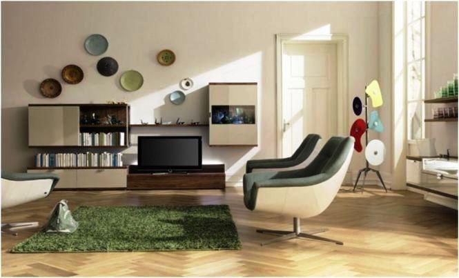 Hiasan Dinding Ruang Tamu Minimalis Modern