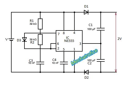 Dc Voltage Doubler Circuit Diagram – comvt.info