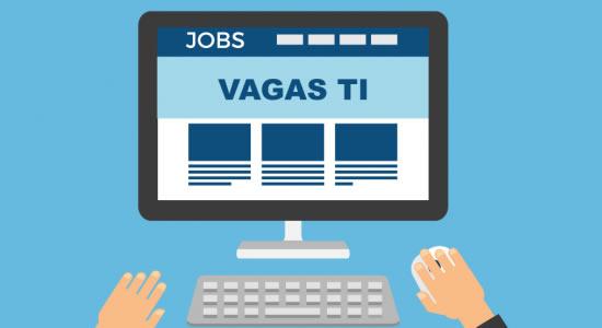 Oportunidades de emprego para o setor de TI em vários Estados